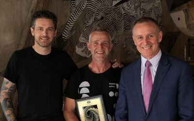 Aaron Gully wins Gold for 'Orana – The Journey'